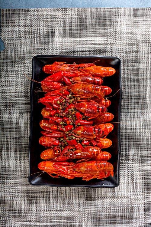 food  spicy crayfish  cooking