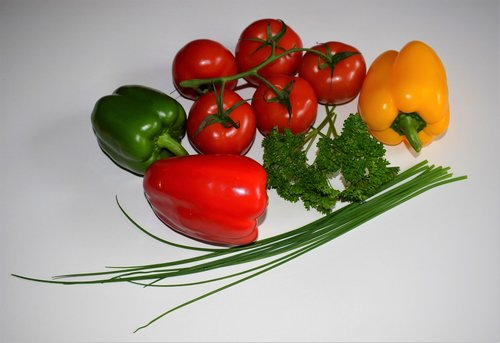 food  tomato  vegetables