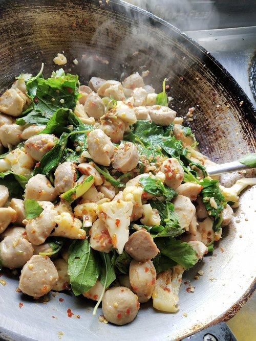 food  stir basil  menu