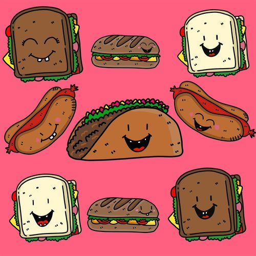 food  sandwiches  filling