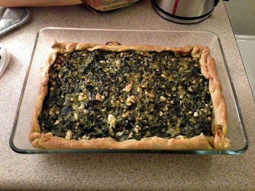 food spinach pie spinach tart