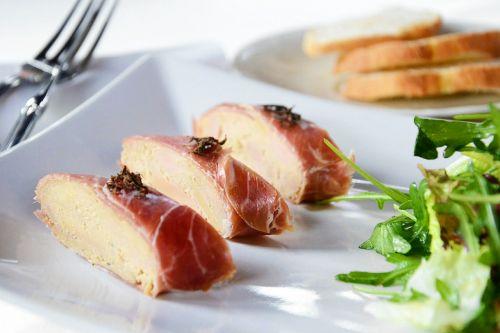 food goose liver truffles