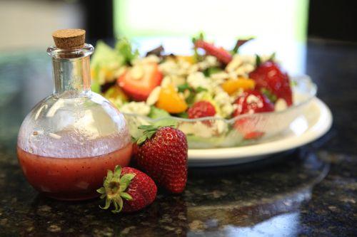 food dressing salad