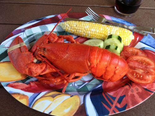 food lobster lobster dinner