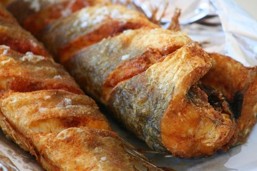 food fried hake