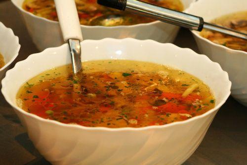 food soup ladle