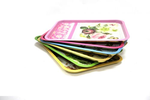 food-grade iron plate tinplate food tray four-color printing iron plate
