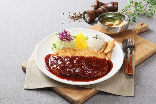 food photography korean cutlet