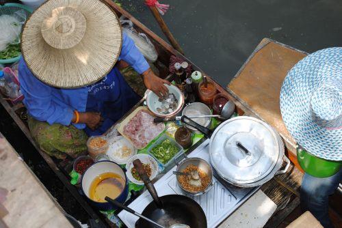 food stall thailand street food