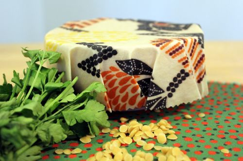 food storage food wrap beeswax
