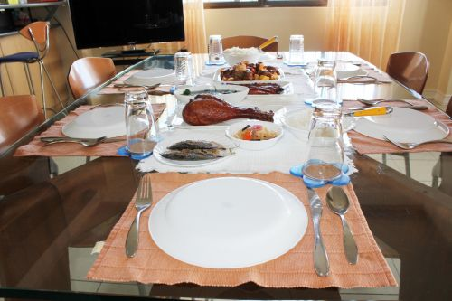 Foods In The Table