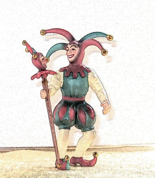 fool court jester jester's mirror
