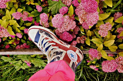 foot leg shoe