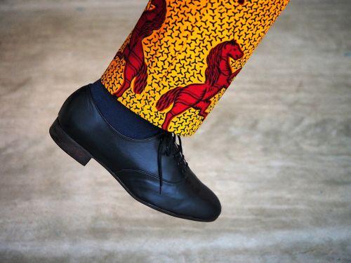 foot shoe step