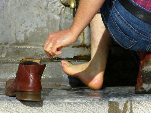 foot wash ritual