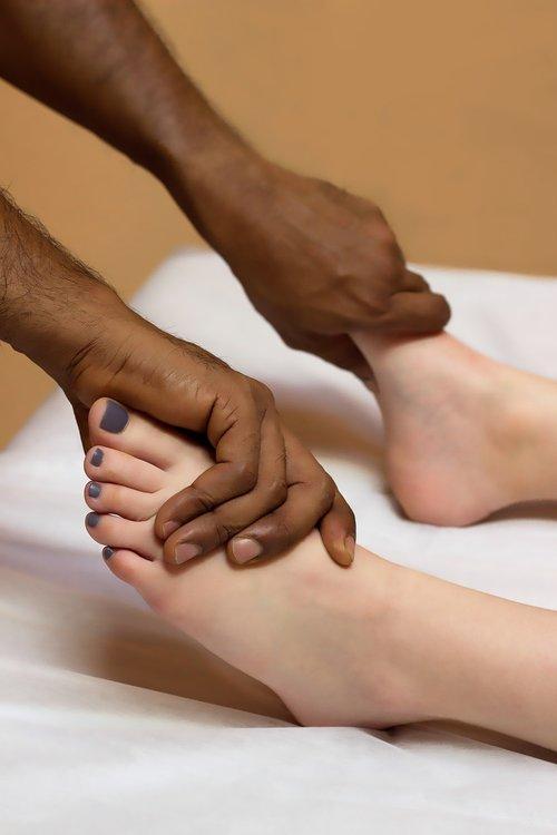 foot massage  massage  wellness