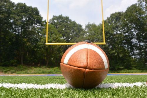football field touchdown