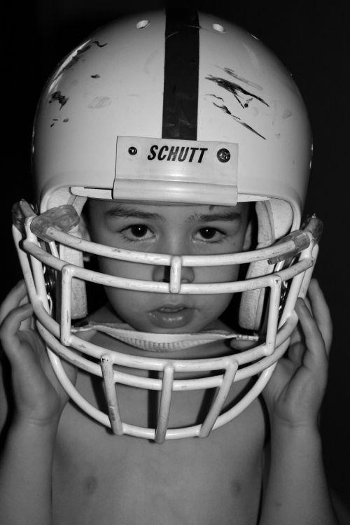 football boy helmet