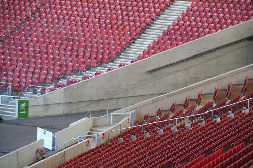 football grandstand stadium