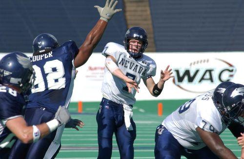 football quarterback pass rush