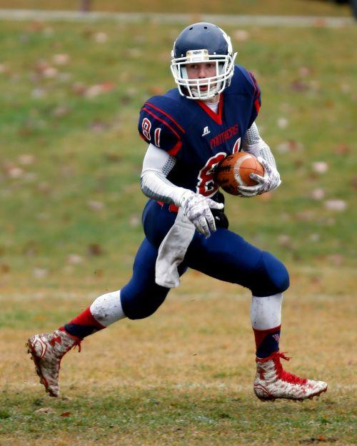 football american football receiver