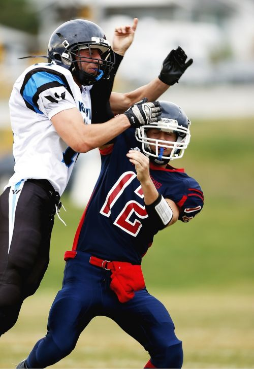 football american football quarterback