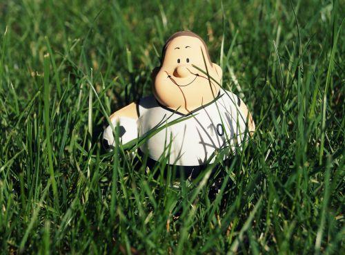 football football player stress ball