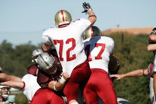 football american football linemen
