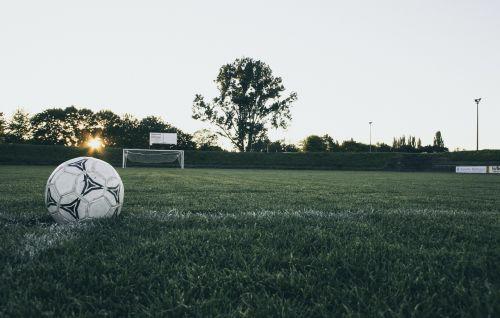 football ball sports ground