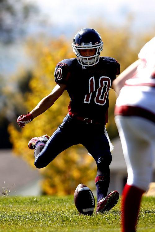 football american football kicker