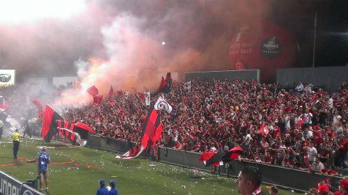 football fans soccer