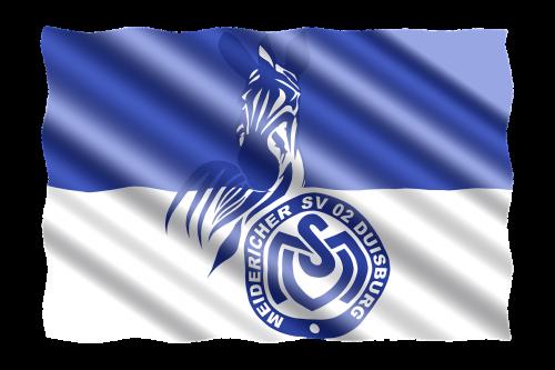 football 2 bundesliga flag