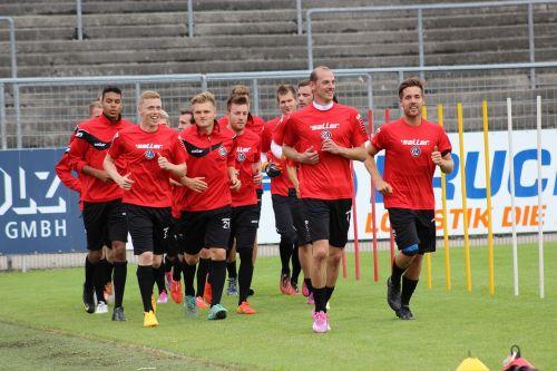 football rush training