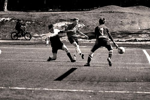 football boys game