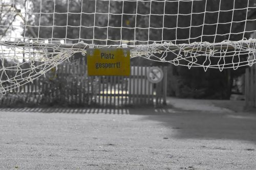football goal soccer
