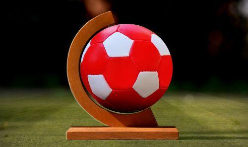 football ball globe