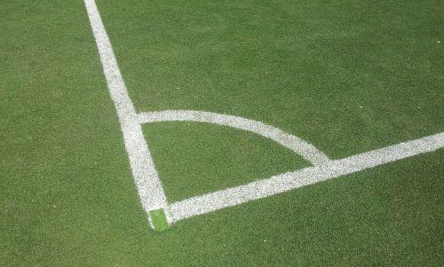 football corner artificial turf