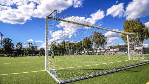 football goal goal line