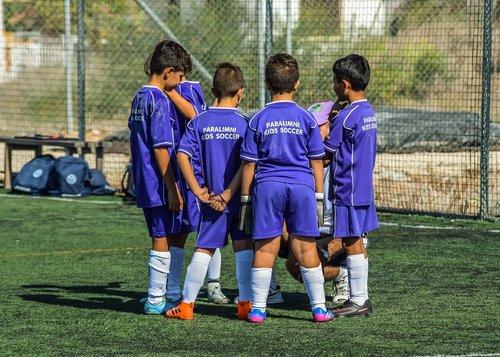 football  kids  boys