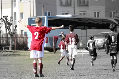 football  player  younger pupils