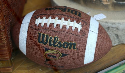 football leather brown