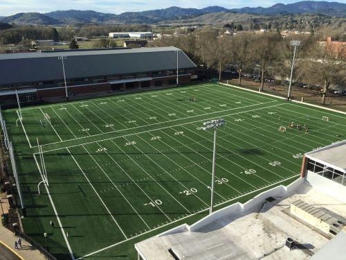 football field practice