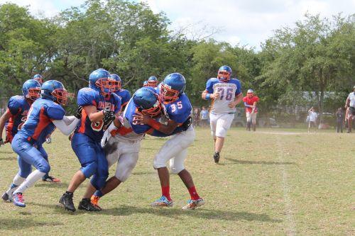 football tackle sports
