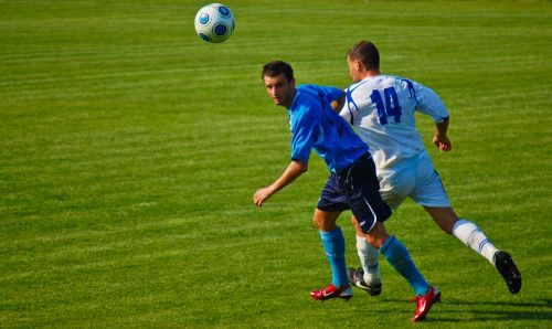 football a ball turf