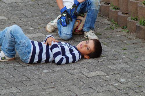 football injury child