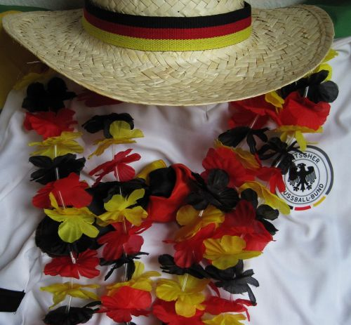 football fever black red and gold garland football jersey
