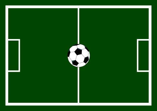 football field football ball