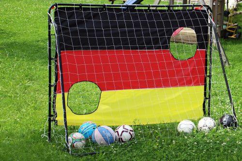 football goal network balls