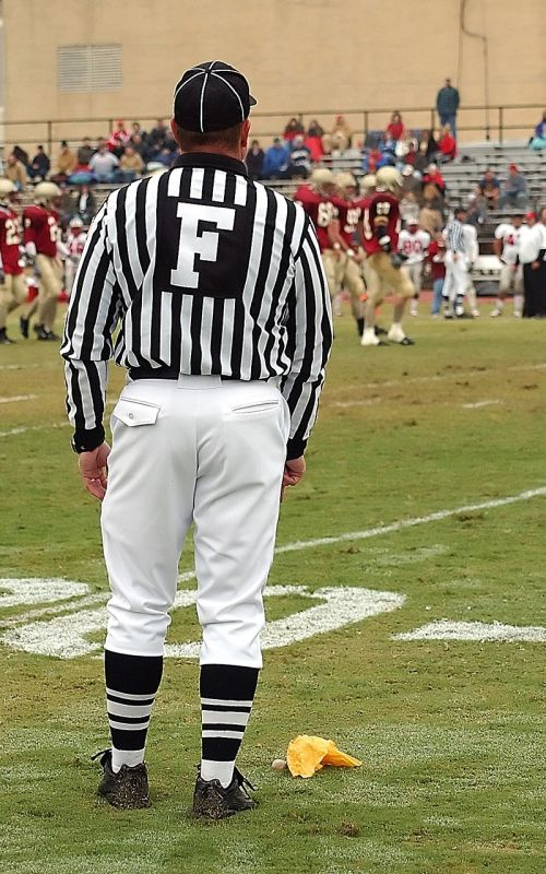 football official official field judge