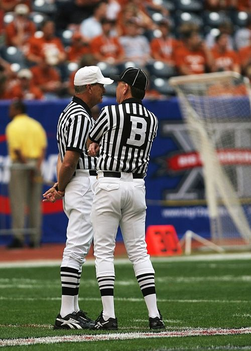 football officials referees american football